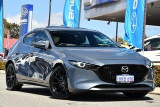2019 Mazda 3 BP2HLA G25 SKYACTIV-Drive Astina Grey 6 Speed Sports Automatic Hatchback.