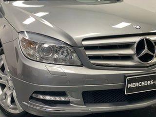 2010 Mercedes-Benz C-Class W204 MY10 C200 CDI Avantgarde Palladium Silver 5 Speed Automatic Sedan.