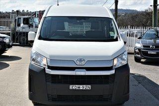 2019 Toyota HiAce GDH320R High Roof Super LWB White 6 Speed Sports Automatic Van.