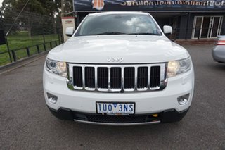 2013 Jeep Grand Cherokee WK MY2013 Limited Bright White 5 Speed Sports Automatic Wagon