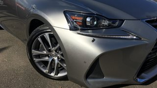 2018 Lexus IS ASE30R IS300 Luxury Billet Silver 8 Speed Sports Automatic Sedan.