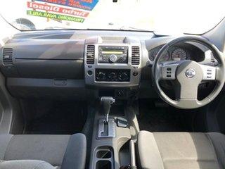 2011 Nissan Navara D40 RX Silver 5 Speed Automatic Utility