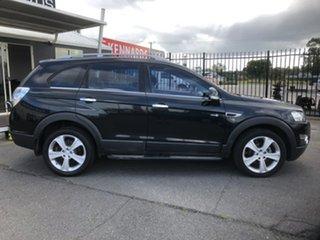 2012 Holden Captiva CG MY12 7 LX (4x4) Black 6 Speed Automatic Wagon.