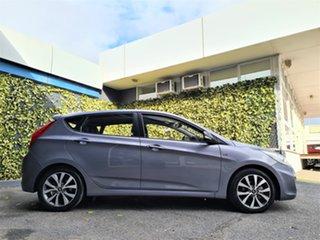 2017 Hyundai Accent RB4 MY17 SR Grey 6 Speed Manual Hatchback.