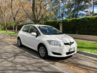 2008 Toyota Corolla ZRE152R Ascent White 4 Speed Automatic Hatchback.