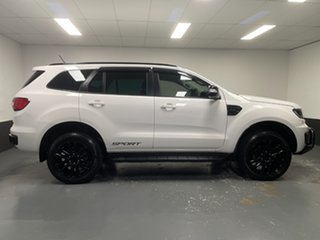 2020 Ford Everest UA II 2020.25MY Sport Arctic White 10 Speed Sports Automatic SUV