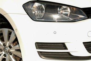 2016 Volkswagen Golf VII MY16 92TSI DSG Comfortline White 7 Speed Sports Automatic Dual Clutch Wagon.