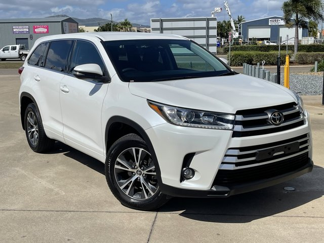 Used Toyota Kluger GSU55R GX AWD Townsville, 2019 Toyota Kluger GSU55R GX AWD White/060819 8 Speed Sports Automatic Wagon