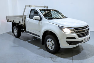 2017 Holden Colorado RG MY17 LS 4x2 White 6 Speed Sports Automatic Cab Chassis