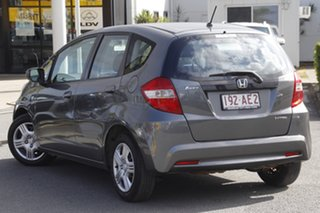 2012 Honda Jazz GE MY12 GLi Polished Metal 5 Speed Automatic Hatchback.