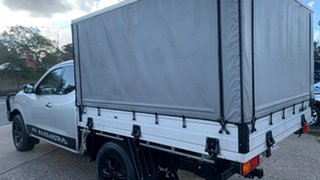 2015 Nissan Navara NP300 D23 RX (4x2) Silver 6 Speed Manual King Cab Chassis