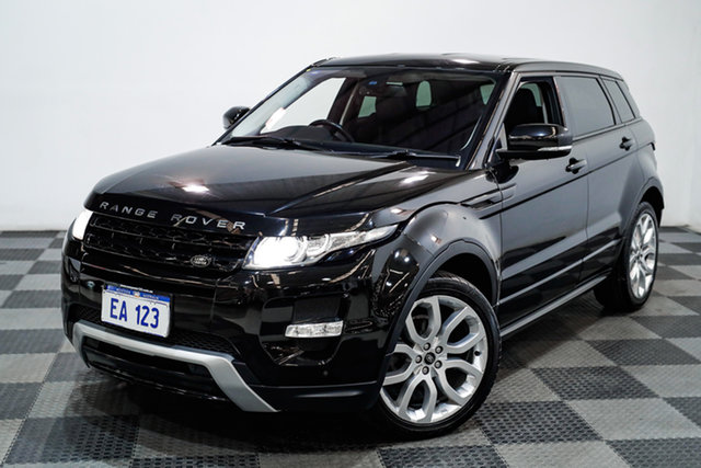 Used Land Rover Range Rover Evoque L538 MY13 TD4 CommandShift Dynamic Edgewater, 2013 Land Rover Range Rover Evoque L538 MY13 TD4 CommandShift Dynamic Black 6 Speed Sports Automatic