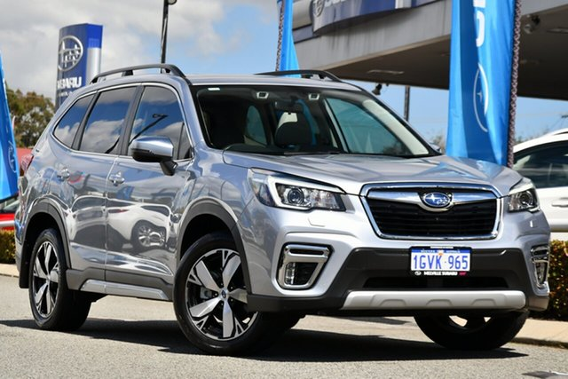 Used Subaru Forester S5 MY20 2.5i-S CVT AWD Melville, 2019 Subaru Forester S5 MY20 2.5i-S CVT AWD Ice Silver Metallic 7 Speed Constant Variable Wagon