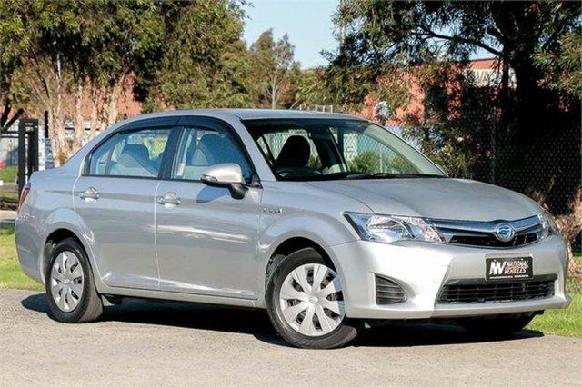 Used Toyota Corolla Axio Braeside, 2014 Toyota Corolla NKE165 Axio Silver 1 Speed Constant Variable Sedan