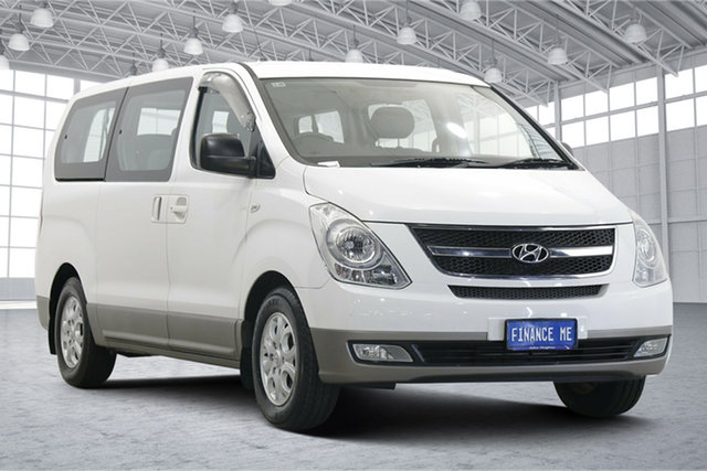 Used Hyundai iMAX TQ-W MY15 Victoria Park, 2014 Hyundai iMAX TQ-W MY15 White 5 Speed Automatic Wagon