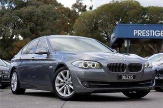 2011 BMW 5 Series F10 MY0311 528i Steptronic Grey 8 Speed Sports Automatic Sedan.