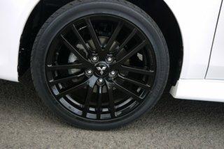 2017 Mitsubishi Lancer CF MY17 Black Edition White 6 Speed Constant Variable Sedan.