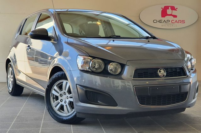 Used Holden Barina TM MY13 CD Brendale, 2012 Holden Barina TM MY13 CD Grey 6 Speed Automatic Hatchback
