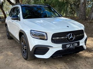 2021 Mercedes-Benz GLB-Class X247 801MY GLB250 DCT 4MATIC White 8 Speed Sports Automatic Dual Clutch.