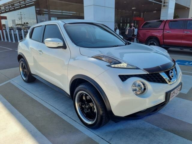Pre-Owned Nissan Juke F15 Series 2 ST (FWD) Gladstone, 2016 Nissan Juke F15 Series 2 ST (FWD) White 6 Speed Manual Wagon