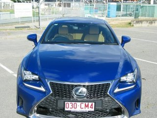 2016 Lexus RC350 GSC10R MY17 F Sport Blue 8 Speed Automatic Coupe