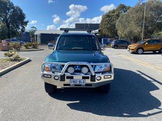 2003 Mitsubishi Pajero NP MY04 Exceed Green 5 Speed Sports Automatic Wagon.