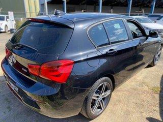 2016 BMW 1 Series F20 LCI 118i Steptronic Sport Line Black Sapphire 8 Speed Sports Automatic