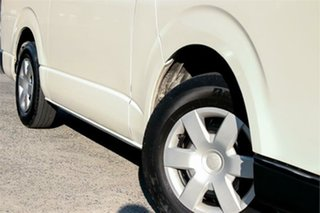2016 Toyota HiAce KDH201V White 4 Speed Automatic Van.