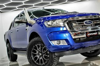 2016 Ford Ranger PX MkII MY17 XLT 3.2 (4x4) Blue 6 Speed Automatic Double Cab Pick Up.