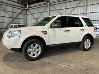 2008 Land Rover Freelander 2 LF Td4 SE White 6 Speed Sports Automatic Wagon.