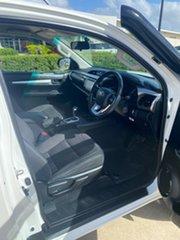 2018 Toyota Hilux GUN126R SR5 Extra Cab White/100418 6 Speed Sports Automatic Utility