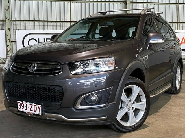Used Holden Captiva CG MY16 LTZ AWD Rocklea, 2015 Holden Captiva CG MY16 LTZ AWD Grey 6 Speed Sports Automatic Wagon