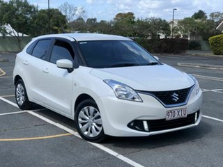 2017 Suzuki Baleno EW GL White 4 Speed Automatic Hatchback.