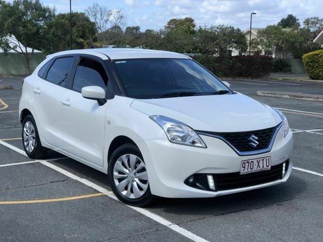 Used Suzuki Baleno EW GL Chermside, 2017 Suzuki Baleno EW GL White 4 Speed Automatic Hatchback