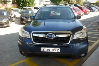 2012 Subaru Forester S4 MY13 2.0D-S AWD Blue 6 Speed Manual Wagon.