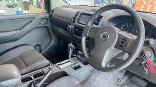 2011 Nissan Navara D40 RX White 5 Speed Automatic Utility