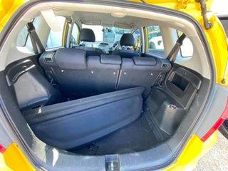 2009 Honda Jazz GE MY09 GLi Helios Yellow Pearlescent 5 Speed Automatic Hatchback