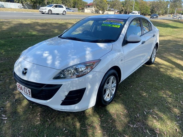 Used Mazda 3 BL10F1 Neo Activematic Clontarf, 2010 Mazda 3 BL10F1 Neo Activematic White 5 Speed Sports Automatic Sedan