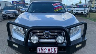 2015 Nissan Navara NP300 D23 RX (4x2) Silver 6 Speed Manual King Cab Chassis.