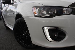 2017 Mitsubishi Lancer CF MY17 Black Edition Starlight 6 Speed Constant Variable Sedan.