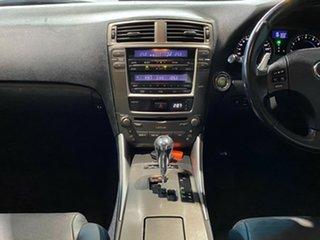 2007 Lexus IS GSE20R IS250 Prestige Charcoal 6 Speed Sports Automatic Sedan