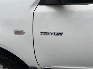 2013 Mitsubishi Triton MN MY13 GLX Double Cab 4x2 White 4 Speed Sports Automatic Utility