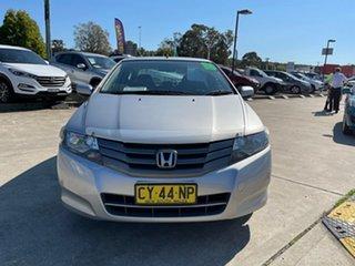 2009 Honda City GM MY09 VTi Silver 5 Speed Manual Sedan.