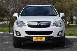 2014 Holden Captiva CG MY14 5 AWD LT White 6 Speed Sports Automatic Wagon.