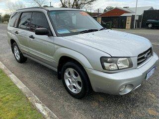 2004 Subaru Forester MY04 XS Luxury Silver 4 Speed Automatic Wagon