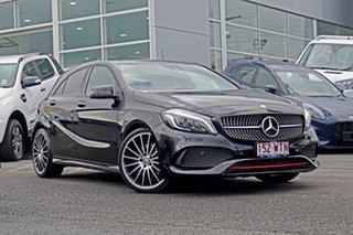 2016 Mercedes-Benz A-Class W176 806MY A250 D-CT 4MATIC Sport Black 7 Speed.