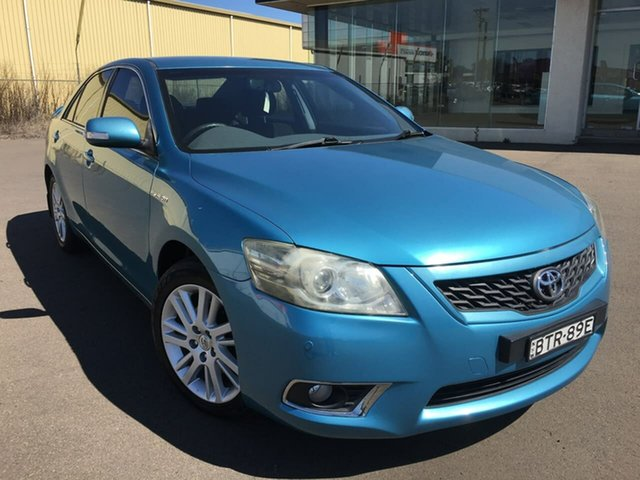 Used Toyota Aurion GSV40R Touring Dubbo, 2010 Toyota Aurion GSV40R Touring Blue Sports Automatic