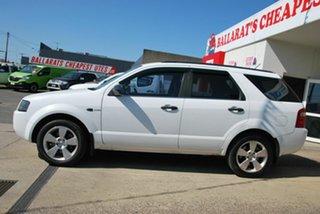 2007 Ford Territory SY TX (4x4) White 6 Speed Auto Seq Sportshift Wagon.