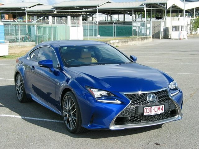 Used Lexus RC350 GSC10R MY17 F Sport Albion, 2016 Lexus RC350 GSC10R MY17 F Sport Blue 8 Speed Automatic Coupe