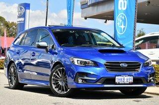 2017 Subaru Levorg V1 MY18 2.0 STI Sport CVT AWD Blue 8 Speed Constant Variable Wagon.